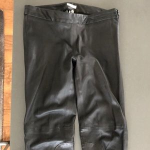 Joie stretch leather pants!
